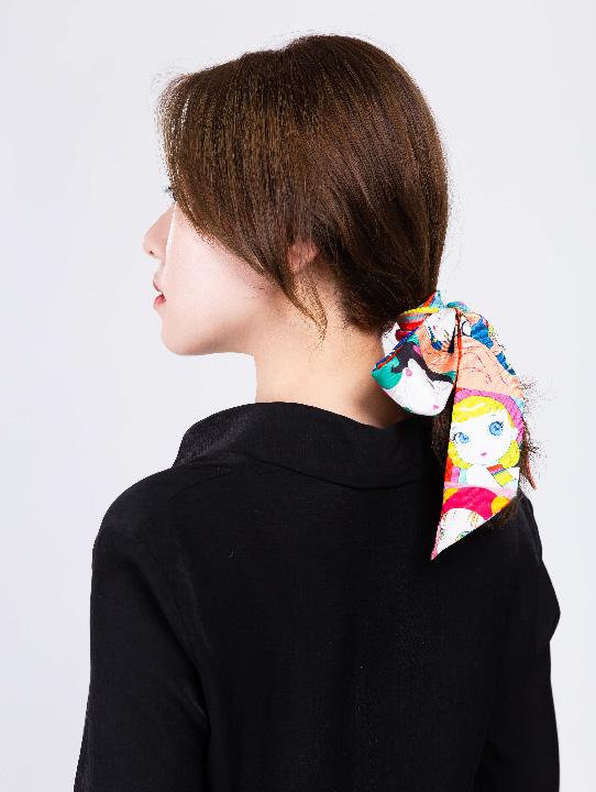 手心里 X 天野喜孝「Candy Girl 」 官方联名系列丝巾